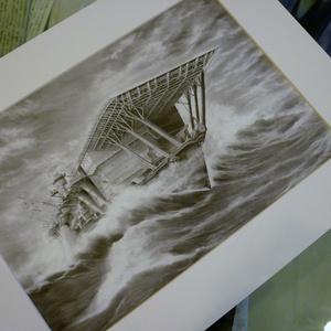 「双対の巨竜 阿形 ‐航空母艦 加賀 1942‐」高精細レプリカ