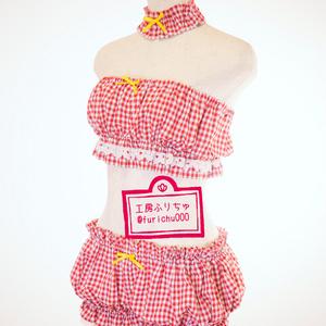 Candyチューブトップ【ストロベリー】