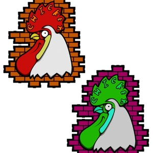 CHIKEN STICKER