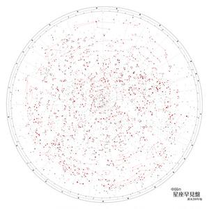 中国の星座早見盤 漢末200年版