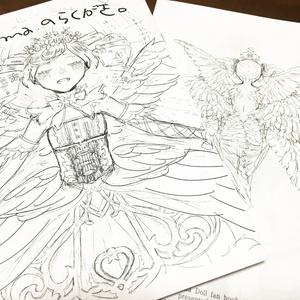 【オトカドール】落書きコピ本