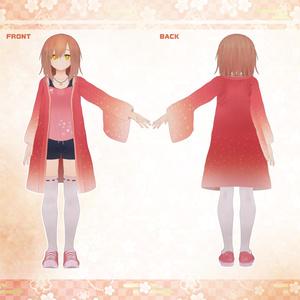 大日女あきな -Oohime Akina- ver1.00【VRChat想定3Dモデル】