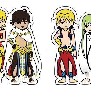 FGO*古代王とウルクのゆる絵アクキー