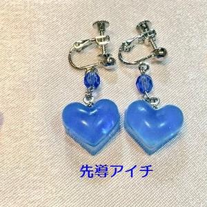 【VG】ハートドロップイヤリング