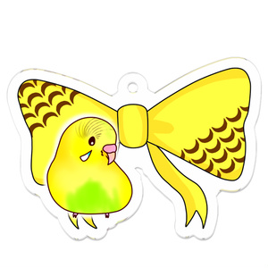 とりぼん 黄ハル セキセイインコ