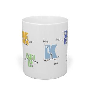 必須アミノ酸化学式マグカップ