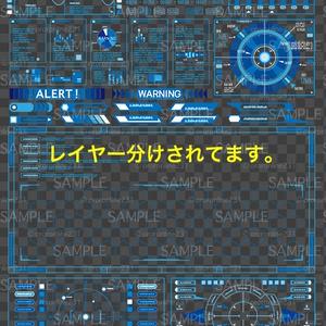モニター画面素材_No,01