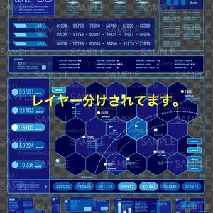 モニター画面素材_No,02