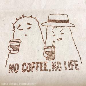 へんないきものCOFFEEトート