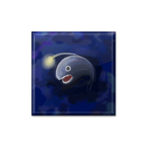 Ib/深海の世 スクエア缶バッジ