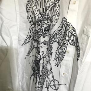 リブカラーYシャツ