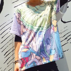 オーバープリントTシャツ「キョウダイ」