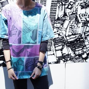 オーバープリントTシャツ「MANGA」