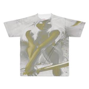 フルグラフィックTシャツ - XL - 両面印刷0216