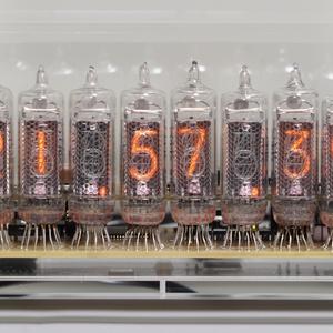 IN-16ニキシー管時計