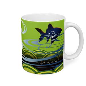 きんととゆるり 紺色2 マグカップ