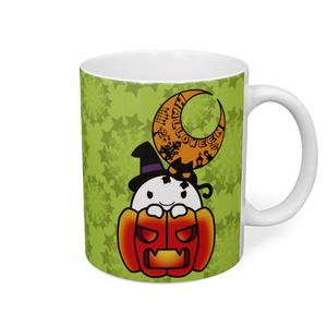 カボチャ畑のふわりん Pumpkin-2 マグカップ
