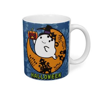 カボチャ畑のふわりん Moon-2 マグカップ