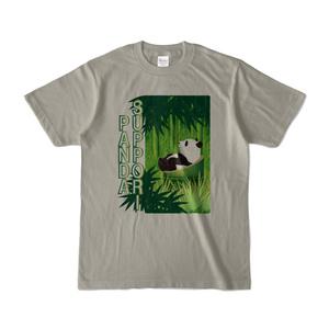 すっぽりぱんだ 淡色Tシャツ