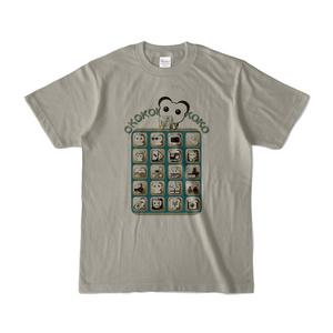 オココアイコン 淡色Tシャツ