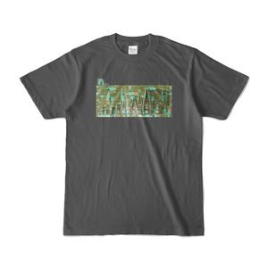 酒size 濃色Tシャツ