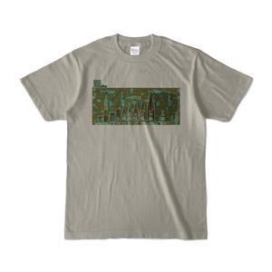 酒size 淡色Tシャツ