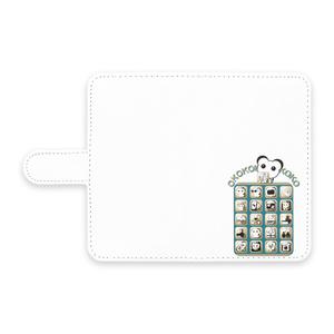 オココアイコン 手帳型Androidケース