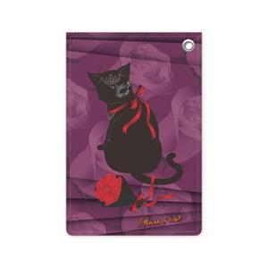 薔薇と猫 LADIES パスケース