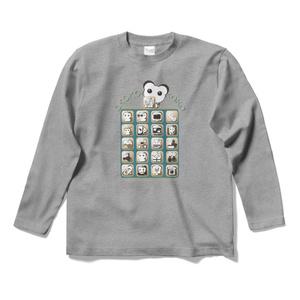 オココアイコン ロングスリーブTシャツ