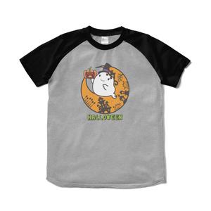 カボチャ畑のふわりん Moon ラグランTシャツ