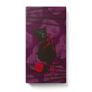 薔薇と猫 LADIES モバイルバッテリー