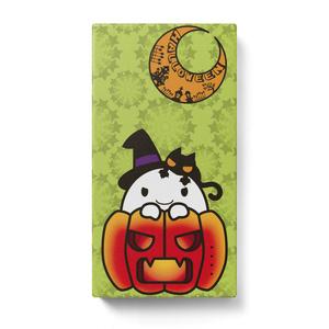 カボチャ畑のふわりん Pumpkin モバイルバッテリー