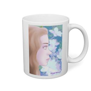 紫陽花マグカップ
