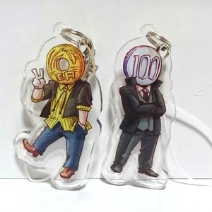 百円ちゃん アクリルキーホルダー