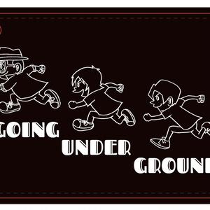 【SALE】GOING UNDER GROUND パスケース