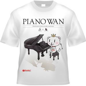 Tシャツ[PIANO WAN]