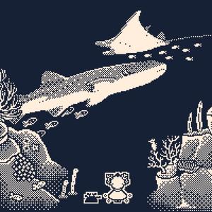 アクリルジオラマ『珊瑚礁』