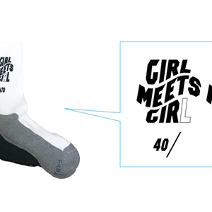 GIRL-MEETS-GIRL!_ SOCKS