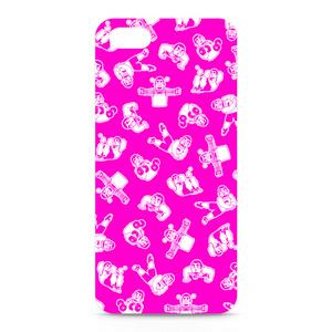 ひげおとめさんiPhoneケース(Pink)