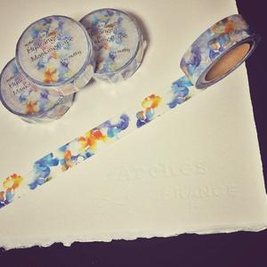マスキングテープ -  Watercolor Hydrangea
