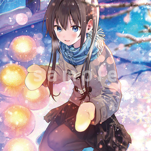 「Winter Snow Pageant」イラスト:はねこと(B1サイズ)
