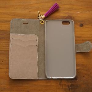 「秘密のイバラ」手帳型iphoneケース