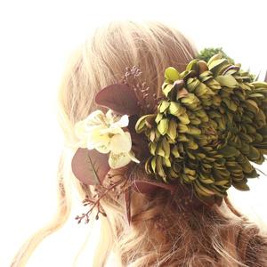 石切丸大きな髪飾りセット