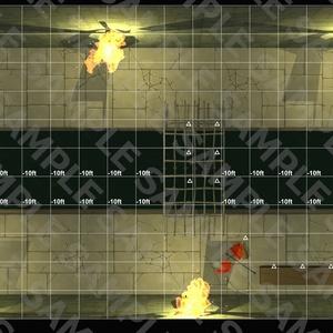 スクエア戦闘マップ