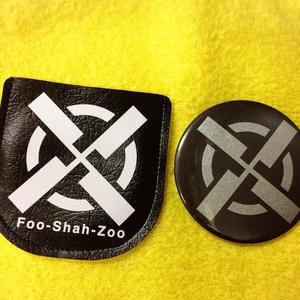 Foo-Shah-Zoo 缶バッヂミラーセット