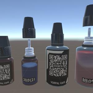 【VRVape】VORPAL VAPE Liquid Bottle Set【リキッドが出る】