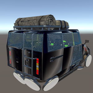 【3Dモデル】MAXIBA D3 Suspender【空飛ぶ車】