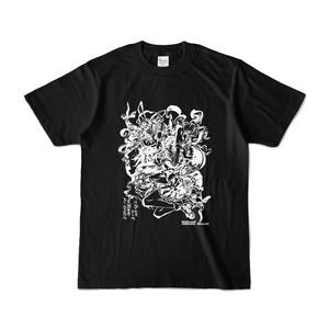 東方Project Tシャツ 博麗霊夢&八雲紫(黒) オンデマンド販売