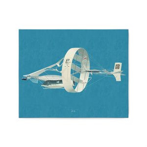 飛び続ける飛行機1