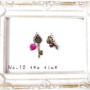 tea timeノンホールピアス